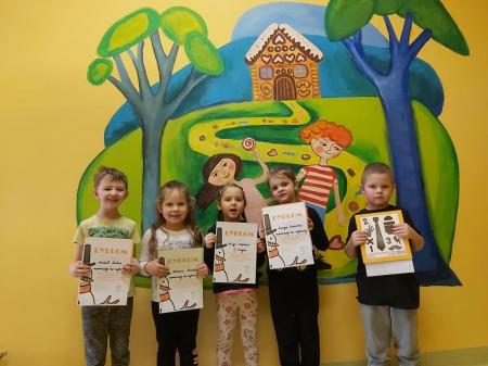 Nagrody i nominacje do wystawy dla przedszkolaków w MIĘDZYSZKOLNYM KONKURSIE P
