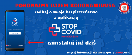 Aplikacja STOP COVID ProteGO SAFE